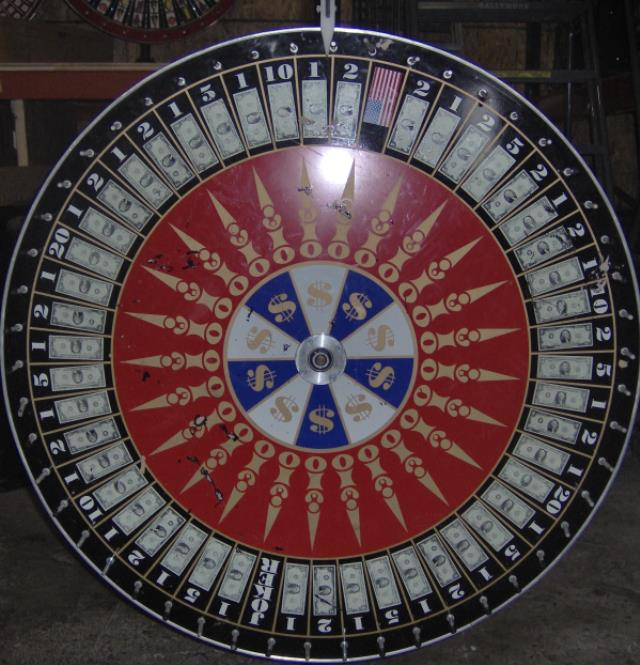 Where to find GAMBLING WHEEL-MONEY in Baltimore