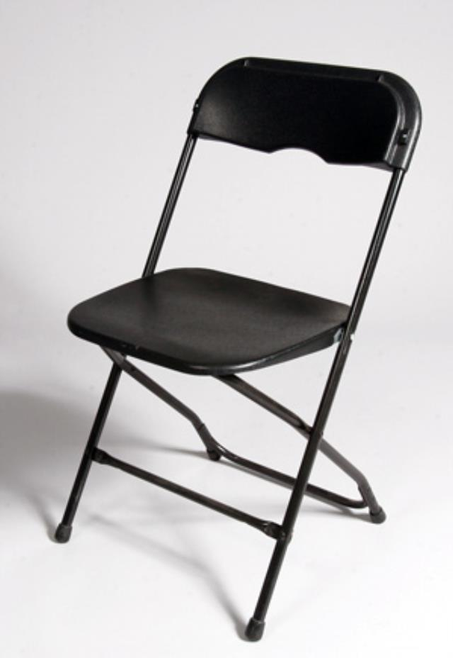 Where to find CHAIRS FOLDING ALL BLACK in Baltimore
