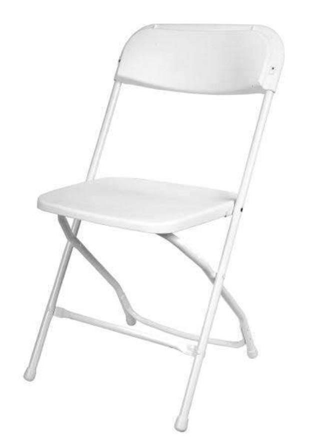 Where to find CHAIRS FOLDING ALL WHITE in Baltimore