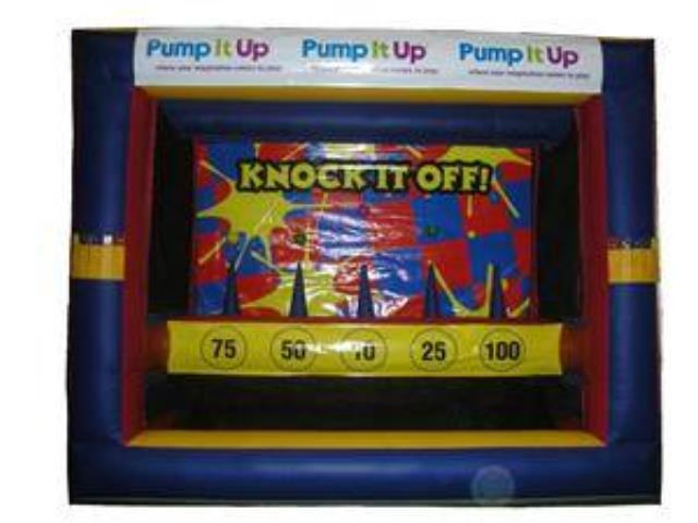Where to find GAME INFLATABLE KNOCK IT OFF in Baltimore