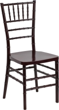 Rental store for CHIAVARI CHAIR BLACK W CUSHION in Baltimore MD